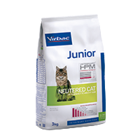 Junior Cat Food - Neutered cat